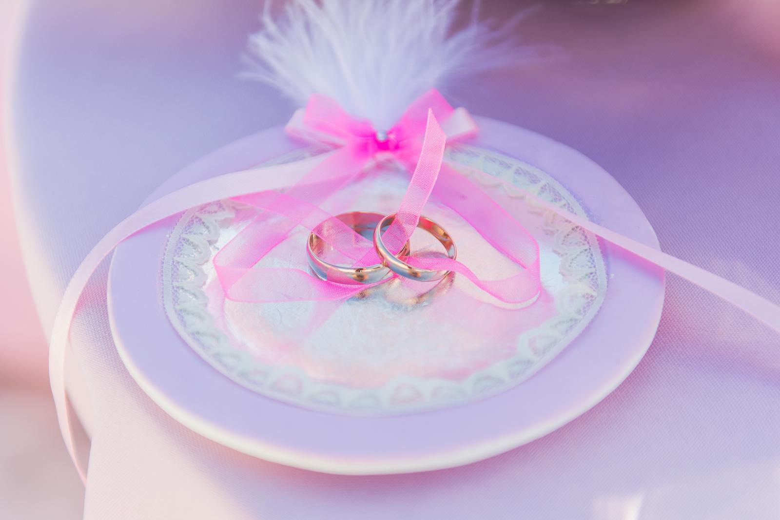 Кольца - главное на свадьбе для двоих