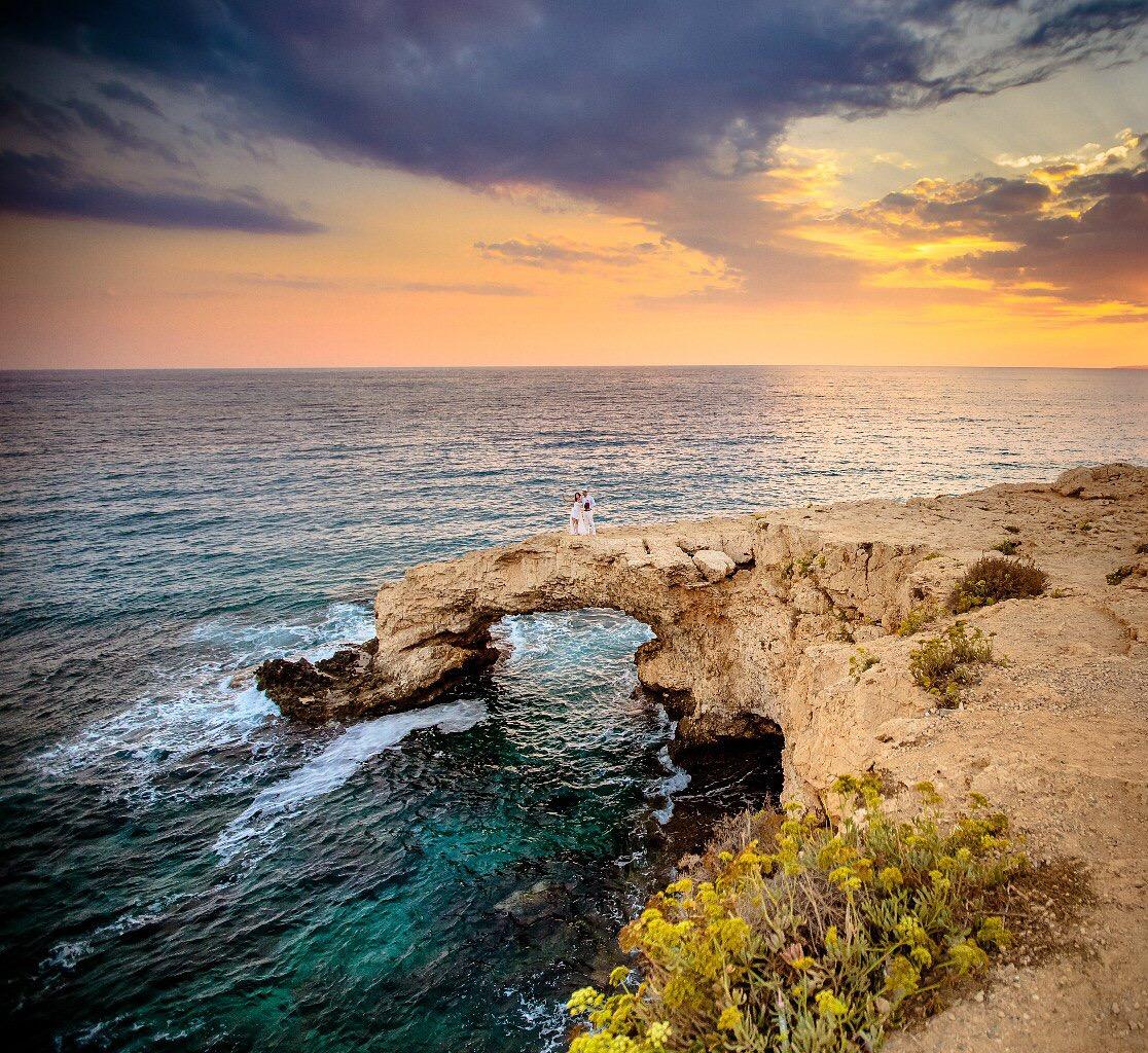 привер символической свадьбы на острове Кипр