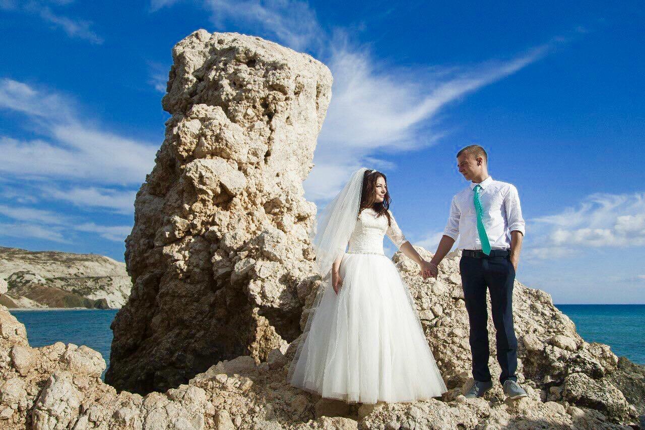 официальная свадьба на Кипре от свадебного агентства «Just Married»